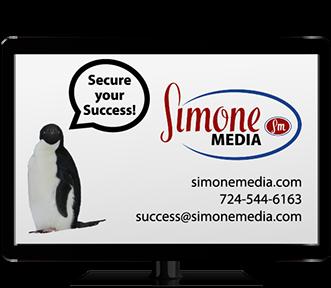 Simone Media monitor-penguin