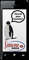 Simone Media phone-penguin