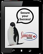 Simone Media tablet-penguin